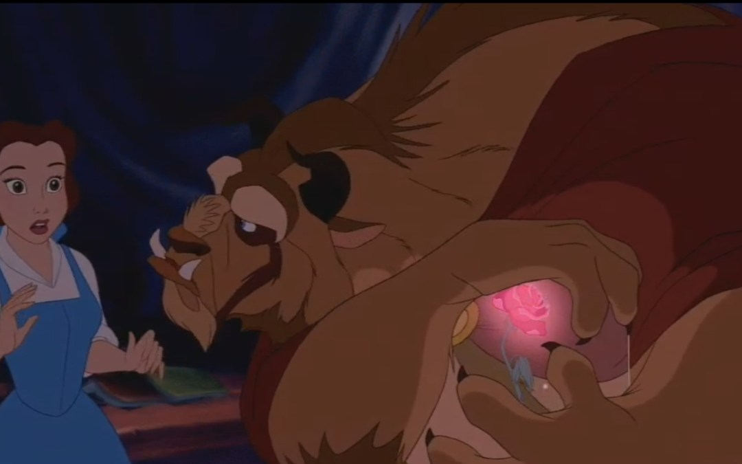 Beauty and the Beast, Minute 44: Beast's Inner Dragon Shows Through