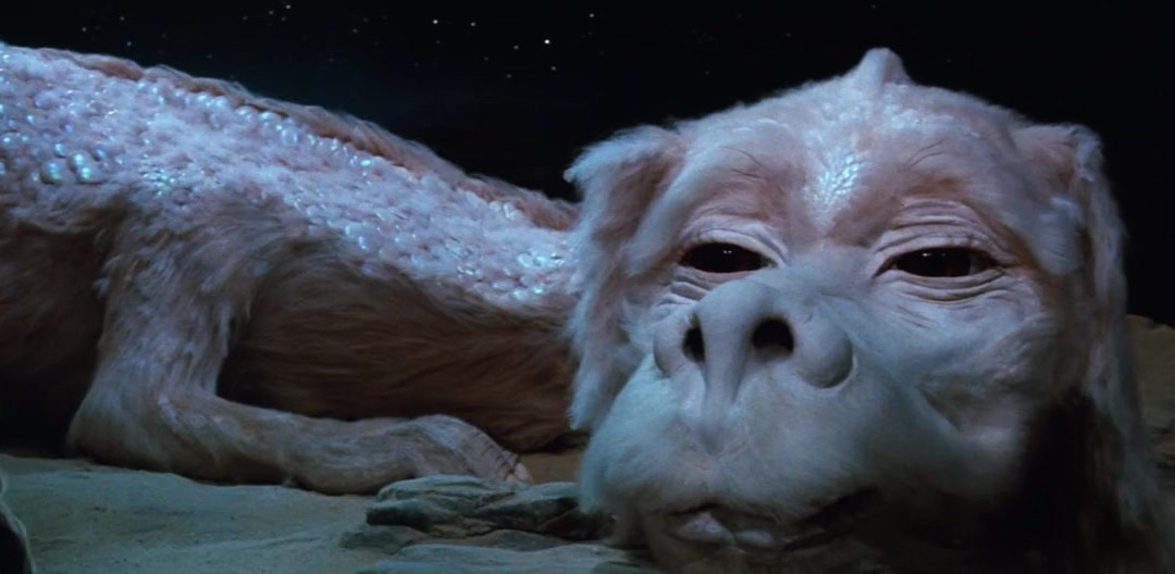 The NeverEnding Story, Minute 057: Falkor's Flu Shot
