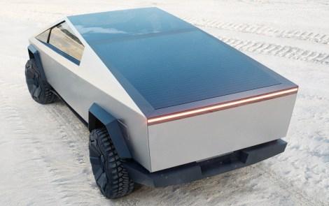Tesla Cybertruck Sand