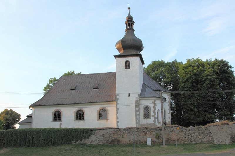 village church Czech republic