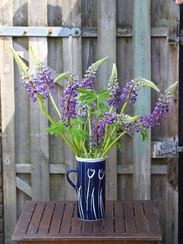 seasonal bouquets - lupines