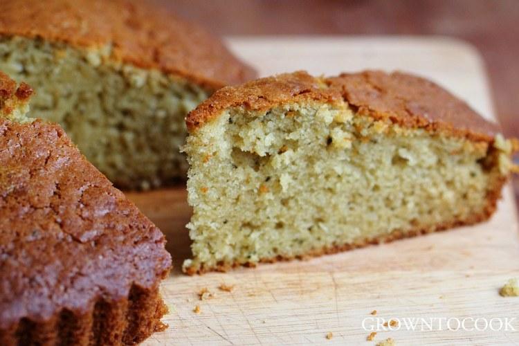 rosemary olive oil spelt cake