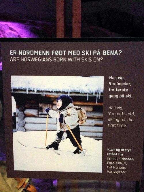 Hartvig on skis