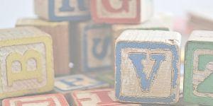 letter blocks stacked