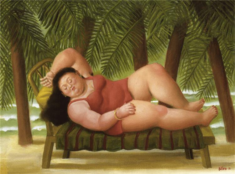 Bather on the Beach, 2001