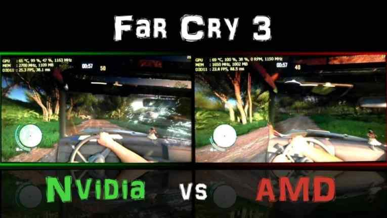 Far Cry 3 Nvidia VS AMD