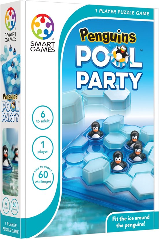 Smart Games Penguins Pool Party