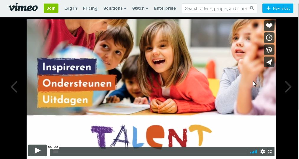 Video's van project talent
