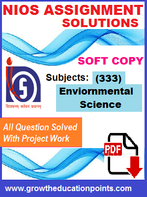 nios solved assignment EVS-333