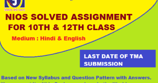 nios solved assignment pdf,