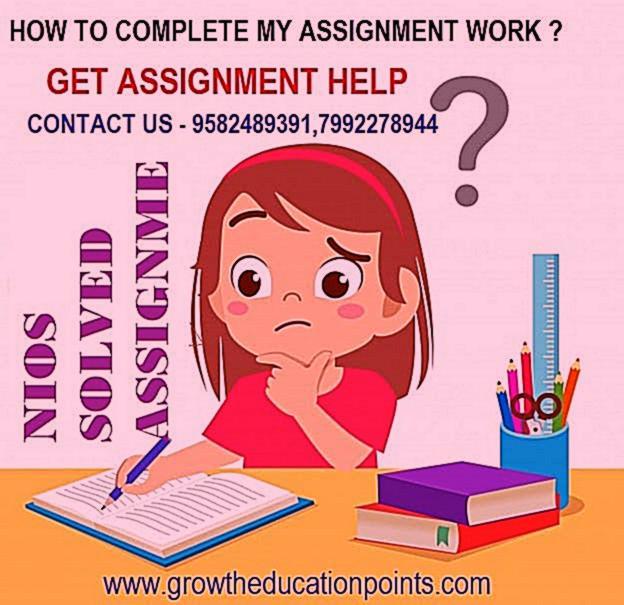 Nios Assignment Data Entry