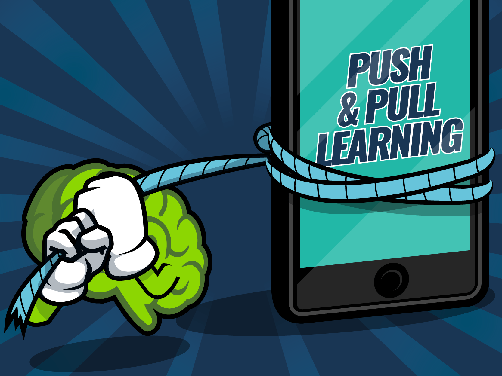 How To Balance Push And Pull Learning With Mobile