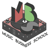 music business school logo