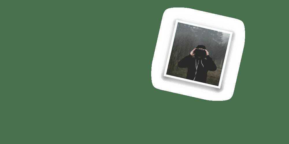 virtual reality hoodie