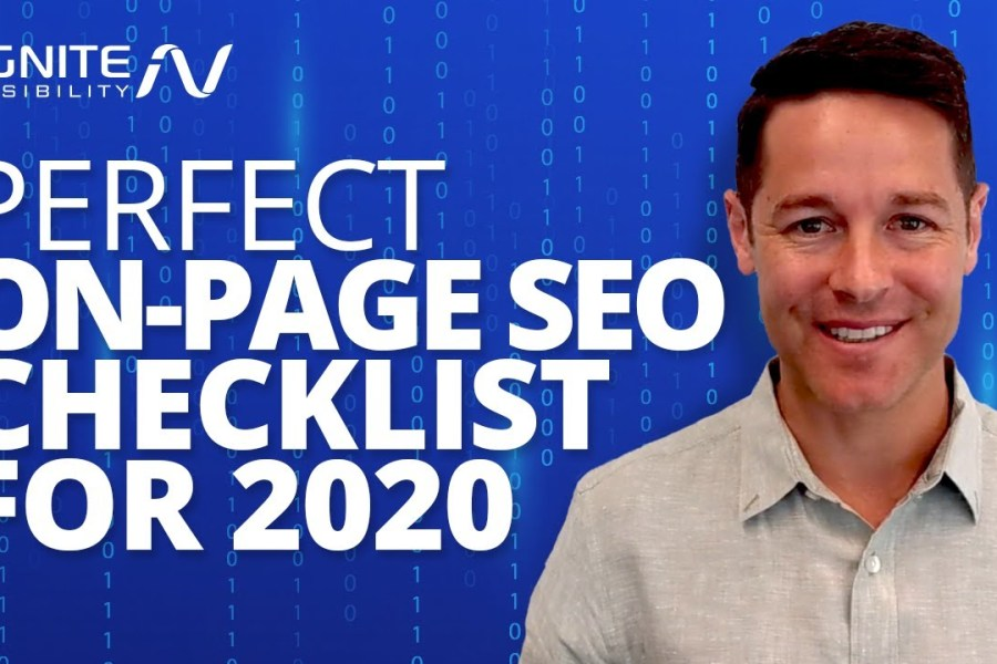 21 Point On-Page SEO Checklist (Rank #1 In 2020)
