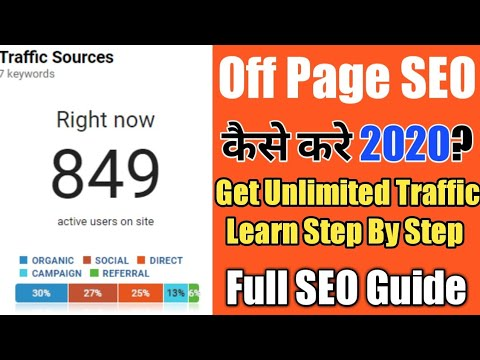 How to Do Off Page SEO 2020 | Rank Your Website Quickly Get Unlimited Traffic to Your Website