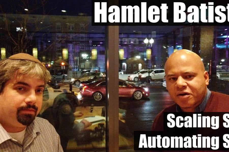 Video: Hamlet Batista on scaling and automating SEO with code