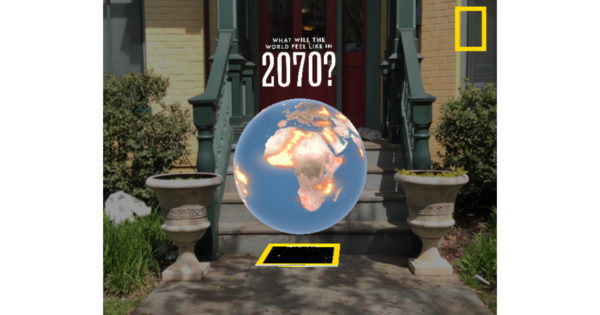 National Geographic Debuts Instagram AR Experience for April Earth Day Issue – Adweek