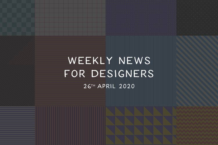 Weekly News for Designers № 537