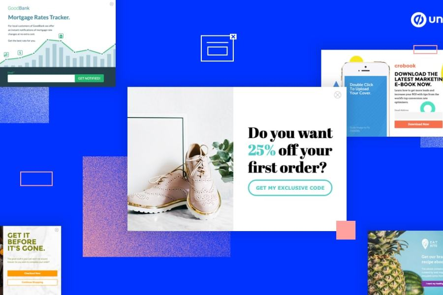 14 Inspiring Popup Design Examples to Help Grow Your Online Business