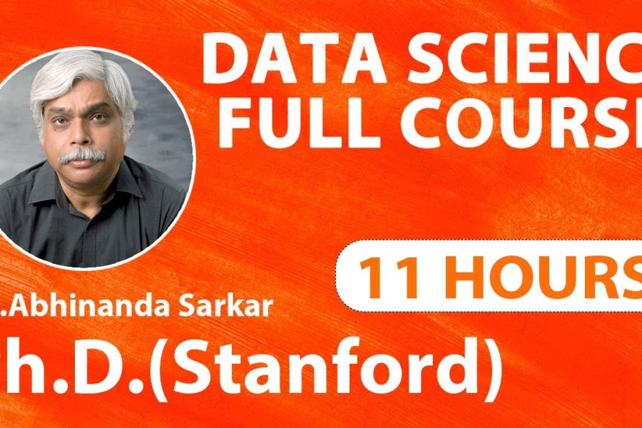 Data Science Tutorial | Data Science for Beginners | Python for Data Science | 11 Hours Full Course