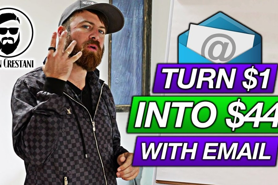 Email Marketing In 2020 (Turn $1 Into $44 With Email)