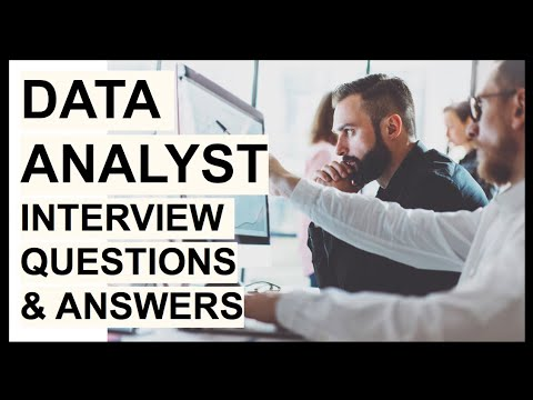 5 DATA ANALYST Interview Questions and TOP SCORING Answers!