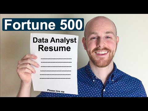 Data Analyst Resume | Reviewing My Resume! | Fortune 500 Data Analyst