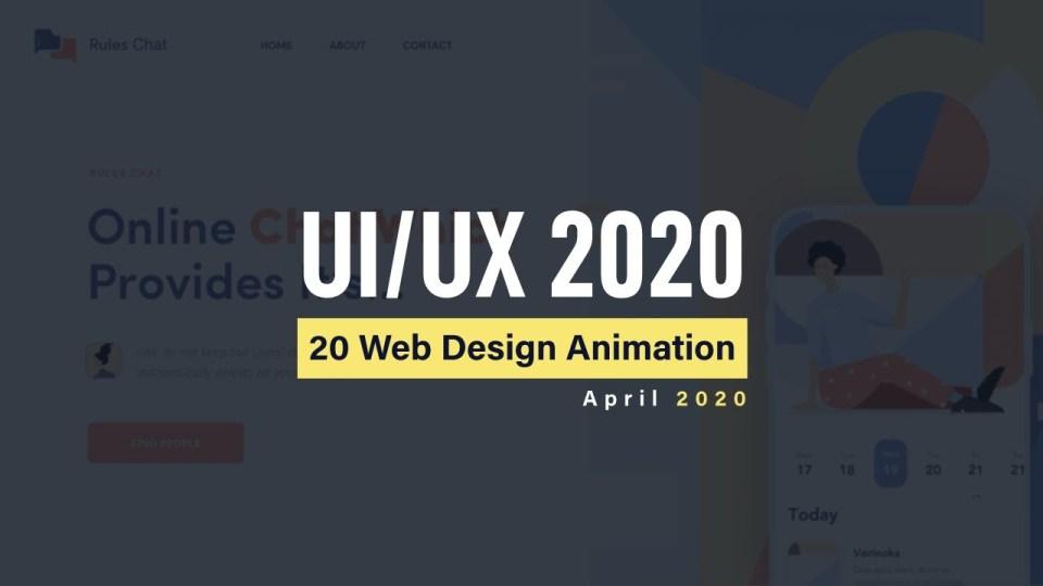 Excellent Animation For Web Design Inspiration 2020 | UI/UX Web Design