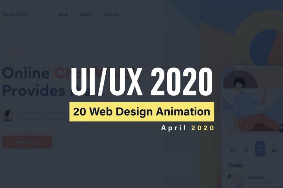 Excellent Animation For Web Design Inspiration 2020 | UI/UX Web Design