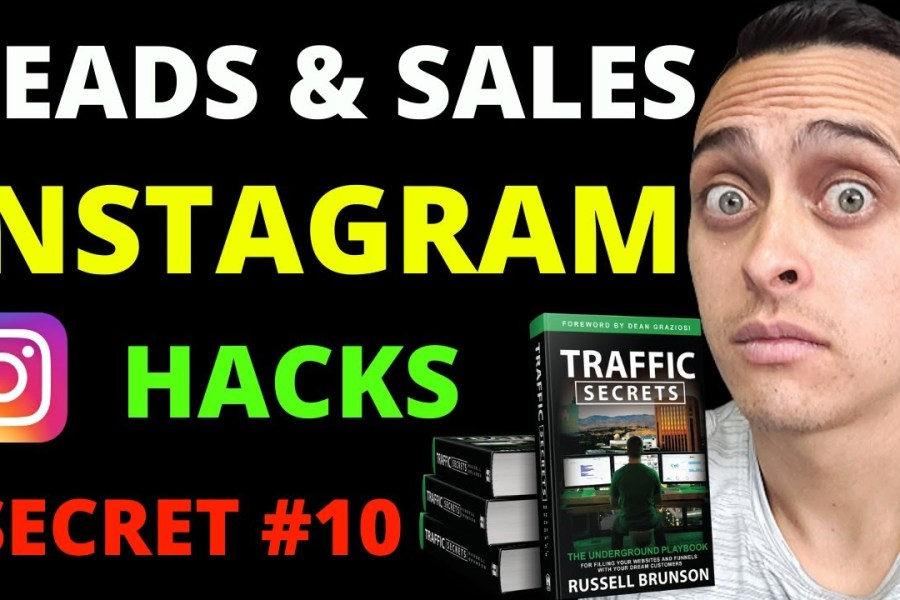 HOW TO USE INSTAGRAM FOR BUSINESS 2020 - Insta Digital Marketing Strategy | Traffic Secrets Book #10