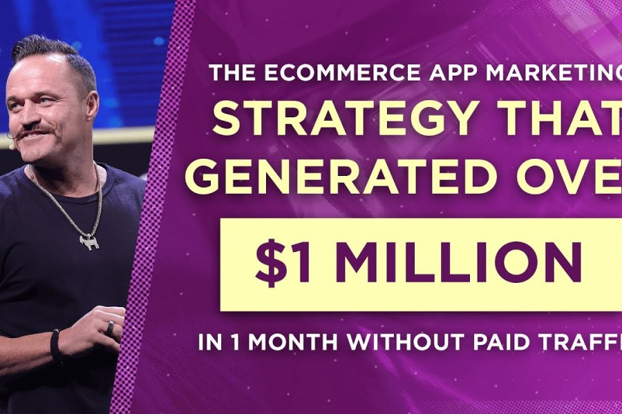 The Ecommerce App Marketing Strategy That Generated Over $1 Million in 1 Month Without Paid Traffic