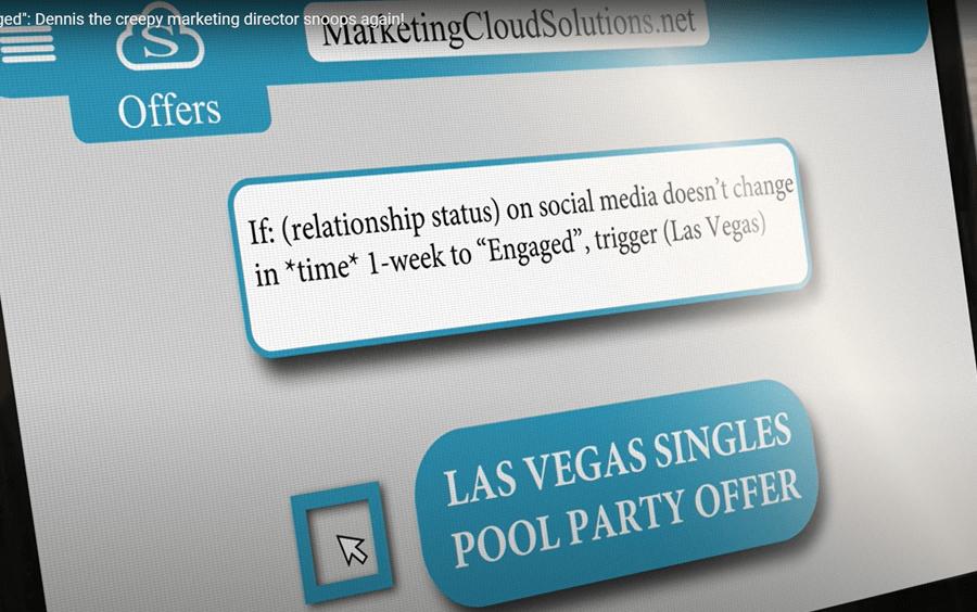 third-party data creepy marketing director
