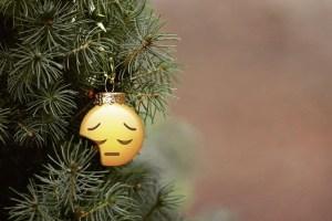 when Christmas hurts, sad Christmas, holiday sadness