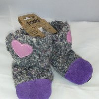 Nooks sling boots purple 0-6m
