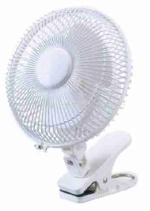 Ventilatore clips per Growroom – 2 velocita 15W