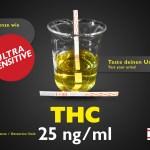 Test delle urine Striscia THC standard