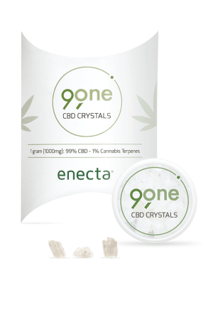 CBD Crystals - 99ONE (99% CBD, 1% TERPENI)