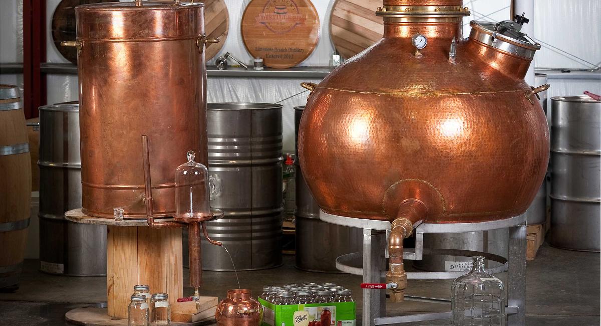 Legal Moonshine Limestone Branch Distillery Grozinegrozine