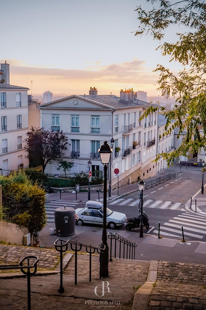 Morning Montmartre Print