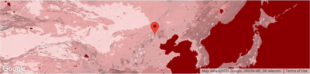Location Great Wall China