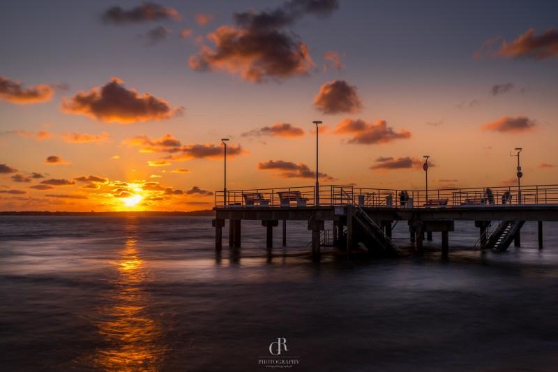 Sunset Pier Arcachon