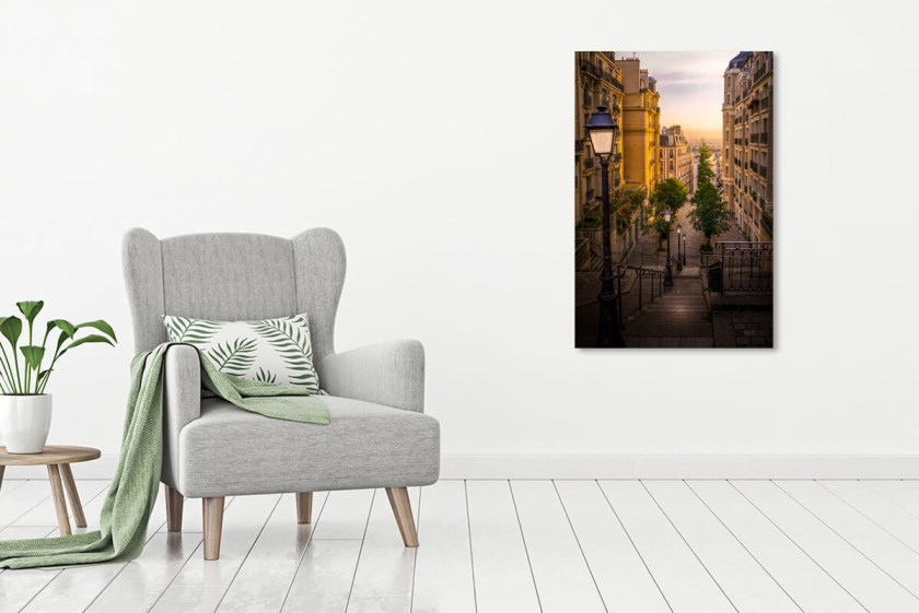 Wall Preview Parisian Stairway Print