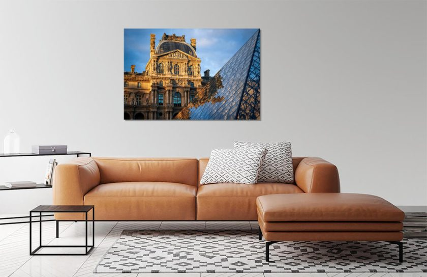 Wall Preview Golden Louvre Print