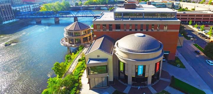 Grand Rapids Public Museum, Exterior Aerial Photo