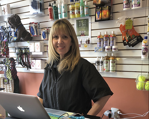 Brooke - Customer and Dog Greeter at Grrreendog Grooming, Spa and Daycare
