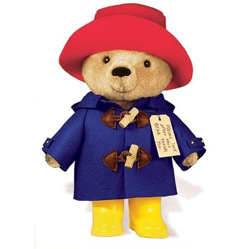 Classis Paddington Bear With Yellow Boots 10 Inch - Grand Rabbits ...