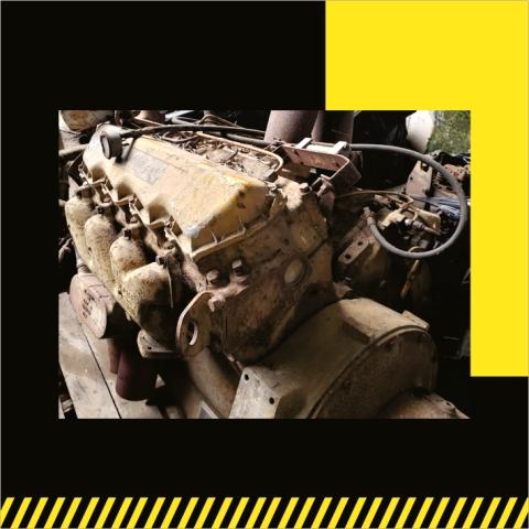 CAT 3208-venta de Partes-grúas SHL