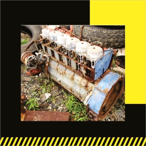 Motor Deutz 6 cyl- Venta de Partes- Grúas SHL