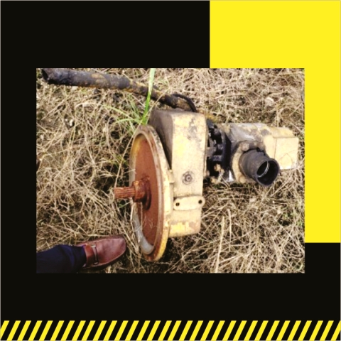 Transfer with gear pump- Grúas SHL